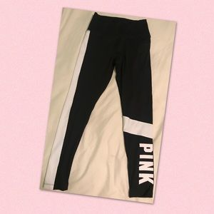 ❗️NEW❗️PINK high waist color block leggings
